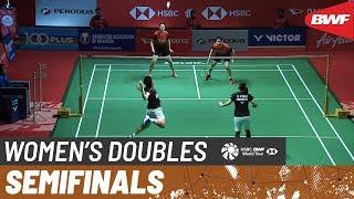 【動画】リ・ウェンメイ・ユー・ツェン VS グレシア・ポリー・アプリヤニ・ラハユ マレーシアマスターズ2020 準決勝