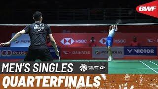 【動画】リー・ジージア VS 石宇奇 マレーシアマスターズ2020 準々決勝