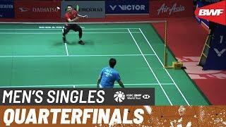 【動画】ジョナタン・クリスティー VS 伍家朗 マレーシアマスターズ2020 準々決勝