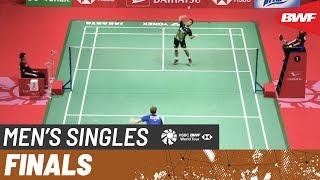 【動画】アンソニー・シニスカ・ギンティン VS アンダース・アントンセン インドネシアマスターズ2020 決勝
