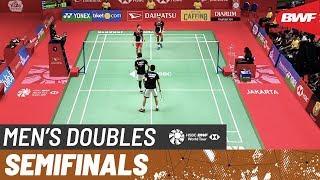 【動画】モハマド・アッサン・ヘンドラ・セティアワン VS ファジャル・アルフィアン・ムハマド・リアン・アルディアント インドネシアマスターズ2020 準決勝