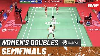 【動画】グレシア・ポリー・アプリヤニ・ラハユ VS キム・ソヨン・コン・ヒヨン インドネシアマスターズ2020 準決勝