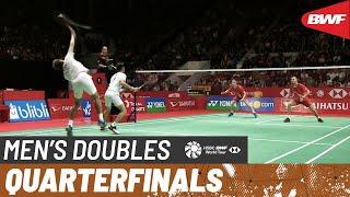 【動画】ファジャル・アルフィアン・ムハマド・リアン・アルディアント VS キム・アストルプ・アンダース・スカールプ・ラスムセン インドネシアマスターズ2020 準々決勝