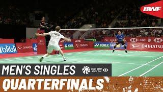 【動画】ジョナタン・クリスティー VS アンダース・アントンセン インドネシアマスターズ2020 準々決勝