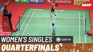 【動画】ミシェル・リー VS ラッチャノク・インタノン インドネシアマスターズ2020 準々決勝