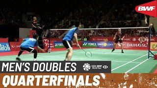 【動画】モハマド・アッサン・ヘンドラ・セティアワン VS リー・ヤン・王齊麟 インドネシアマスターズ2020 準々決勝