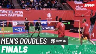 【動画】キム・アストルプ・アンダース・スカールプ・ラスムセン VS リー・ヤン・王齊麟 スペインマスターズ2020 決勝
