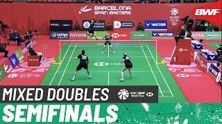 【動画】キム・サラン・キム・ハナ VS マシアス ベイ-スミット・リッケ・ソウビー スペインマスターズ2020 準決勝