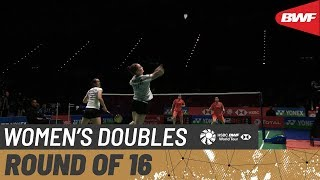 【動画】陳清晨 VS クロエ・バーチ・ローレン・スミス 全英オープン2020 ベスト16