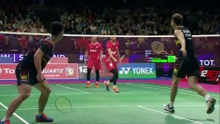 【動画】刘成 VS モハマド・アッサン・ライアン・アグン・サプトロ BWF世界選手権2017 決勝