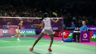 【動画】P.V.シンドゥ VS 陳雨菲 BWF世界選手権2017 準決勝