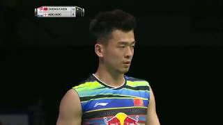 【動画】郑思维 VS クリス・アドコック・ガブリエル・アドコック BWF世界選手権2017 準決勝