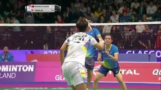【動画】王懿律 VS タン・キアン・メング・ライ・ペイジン BWF世界選手権2017 ベスト16