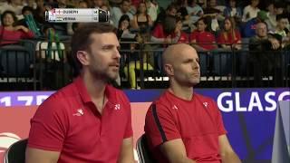 【動画】ラジブ・オーセフ VS サミール・ヴェルマ BWF世界選手権2017 ベスト32
