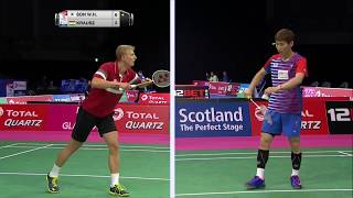 【動画】ソン・ワンホ VS Gergely KRAUSZ BWF世界選手権2017 ベスト32