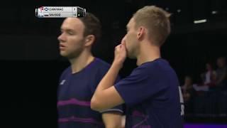 【動画】ウラジミール・イワノフ・イワン・ソゾノフ VS マーティン・キャンベル・パトリック・マクヒュー BWF世界選手権2017 ベスト32