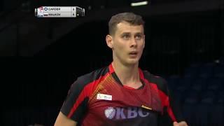 【動画】マシュー・カーダー VS ウラジミール・マルコフ BWF世界選手権2017 ベスト64