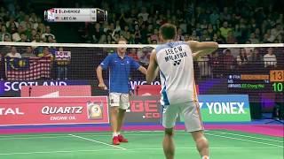 【動画】ブリス・レヴェルデ VS リー・チョンウェイ BWF世界選手権2017 ベスト64