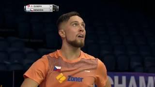 【動画】ラジブ・オーセフ VS アダム・メンドレク BWF世界選手権2017 ベスト64