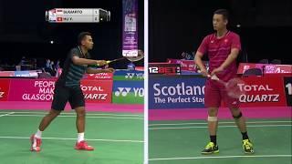 【動画】トミー・スギアルト VS 胡贇 BWF世界選手権2017 ベスト64