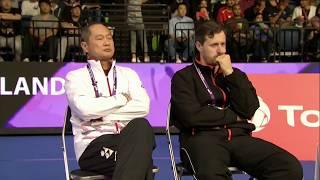 【動画】林丹 VS キーラン・メリリーズ BWF世界選手権2017 ベスト64