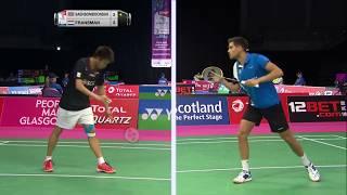 【動画】タノンサック・サエンソンボーンスク VS ニック・フランズマン BWF世界選手権2017 ベスト64