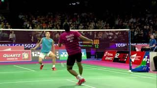 【動画】スリカンス・K VS セルゲイ・シラント BWF世界選手権2017 ベスト64