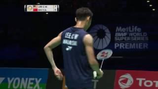 【動画】リー・チョンウェイ VS 石宇奇 全英オープン2017 決勝
