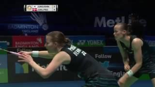 【動画】カミラ・リター・ユール・クリスティナ・ペダセン VS ジュン・キュンユン・申昇輩 全英オープン2017 準決勝