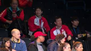 【動画】山口茜 VS ラッチャノク・インタノン 全英オープン2017 準決勝