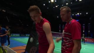 【動画】林丹 VS ビクター・アクセルセン 全英オープン2017 準々決勝