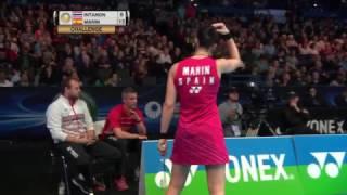 【動画】ラッチャノク・インタノン VS キャロリーナ・マリン 全英オープン2017 準々決勝