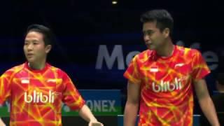 【動画】クリス・アドコック・ガブリエル・アドコック VS タトウィ・アーマド・リリヤナ・ナットシール 全英オープン2017 準々決勝