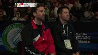 【動画】クリス・アドコック・ガブリエル・アドコック VS 徐晨・ドゥ・ユエ 全英オープン2017 ベスト16
