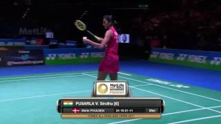 【動画】P.V.シンドゥ VS ディナー・ディヤ・アユスティン 全英オープン2017 ベスト16
