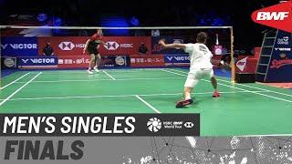 【動画】ラスムス・ゲムケ VS アンダース・アントンセン デンマークオープン2020 決勝