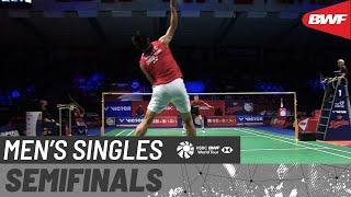 【動画】アンダース・アントンセン VS 周天成 デンマークオープン2020 準決勝