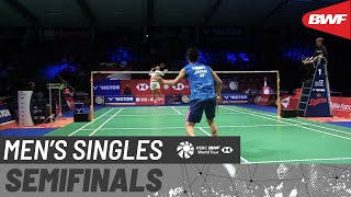 【動画】ラスムス・ゲムケ VS 西本拳太 デンマークオープン2020 準決勝