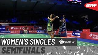 【動画】イボンヌ・リ VS キャロリーナ・マリン デンマークオープン2020 準決勝