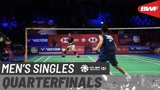【動画】ハンス-クリスチャン・ソルベルグ・ビッテンフス VS 西本拳太 デンマークオープン2020 準々決勝
