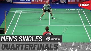 【動画】ジャン・O・ヨルゲンセン VS アンダース・アントンセン デンマークオープン2020 準々決勝