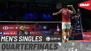 【動画】スリカンス・K VS 周天成 デンマークオープン2020 準々決勝