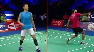 【動画】イ・ヒュンイル VS スリカンス・K バドミントンデンマークオープン2017 決勝