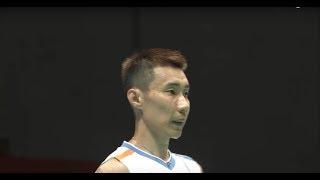 【動画】リー・チョンウェイ VS 石宇奇 ダイハツヨネックスジャパンオープン2017 準決勝