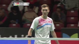 【動画】ビクター・アクセルセン VS スリカンス・K ダイハツヨネックスジャパンオープン2017 準々決勝