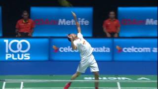 【動画】リー・チョンウェイ VS 林丹 バドミントンマレーシアオープン2017 決勝