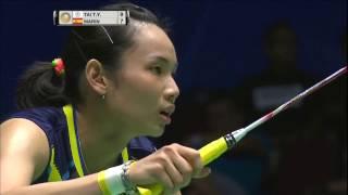 【動画】戴資穎 VS キャロリーナ・マリン バドミントンマレーシアオープン2017 決勝