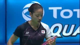 【動画】奥原希望 VS キャロリーナ・マリン バドミントンマレーシアオープン2017 準決勝