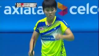 【動画】陳雨菲 VS ゴウ・ジン・ウェイ バドミントンマレーシアオープン2017 ベスト16