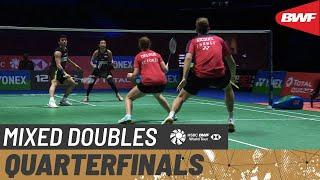 【動画】チャン・ペンスン/ゴー・リューイン VS トム・ギックル/デルフィン・デルリュ 全英オープン2021 準々決勝